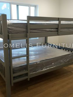 FULL/FULL BUNK BEDS W MATTRESS INCLUDED. for Sale in Corona,  CA