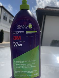 1 Quart 3M Perfect-It Boat Wax for Sale in Winter Garden,  FL