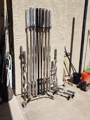 Olympic Bars - READ THE DESCRIPTION FOR PRICES!!! for Sale in Glendale, AZ