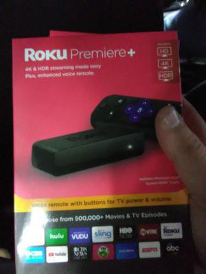 Roku premiere+ for Sale in Saint Paul, MN