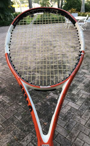 Wilson N Code Tour 95 Tennis Racket for Sale in Miami, FL