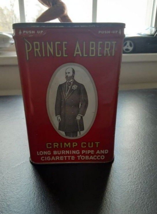 Vintage Prince Albert Tobacco Tin 1 1/2 Oz.