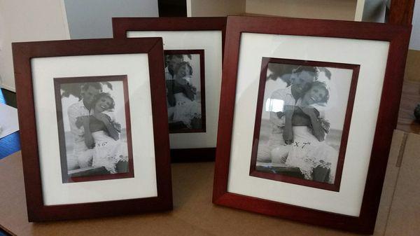 Photo decor set - 6 piece