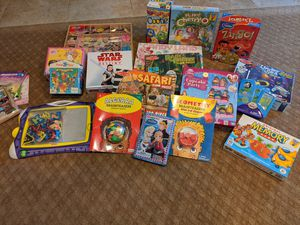 Various board games and puzzles for Sale in Yucaipa, CA