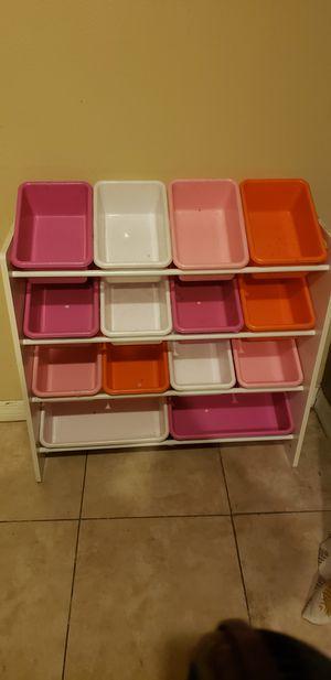 Kids storage organizer for Sale in Victorville, CA