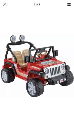 Jeep toy for kids 3-7 years old new for Sale in Miami, FL