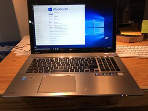 "Toshiba 17"" laptop for Sale in Fargo, ND"