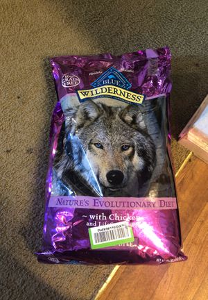 Blue wilderness dog food New and sealed for Sale in Carmichael, CA