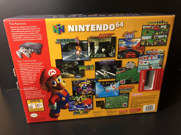 Nintendo 64 TOYS RUS LIMITED EDITION