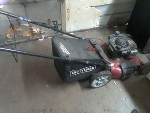 craftsman push mower for Sale in Houston, TX