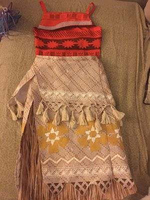 Disney Moana Costume (7-8) for Sale in Escondido, CA