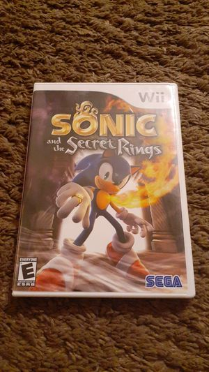Sonic and the Secret Rings Nintendo Wii Game for Sale in Allentown, PA