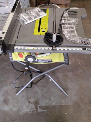 "Ryobi 10"" table saw for Sale in Fresno, CA"
