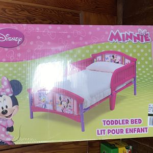 New Minnie Mouse Toddler Bed Frame for Sale in Quincy, MA