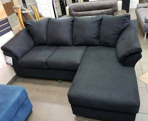 🍒$39 Down 🍒 Best OFFER. SPECIAL] Darcy Black Sofa Chaise byAshley for Sale in Laurel,  MD