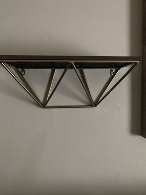 Decorative Wall shelves set of two for Sale in Maple Shade Township, NJ