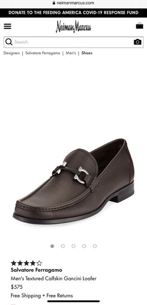 Brand new Ferragamo men's loader size US 11 for Sale in Fullerton, CA