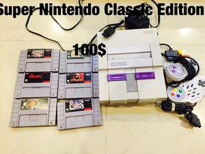 Super Nintendo Classic Edition for Sale in Miami, FL