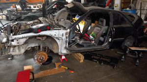 Acura Integra 1991 parting out come get it engine and transmission gone for Sale in Corona, CA