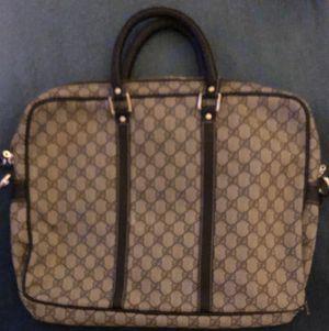 Gucci messenger bag/briefcase for Sale in Las Vegas, NV