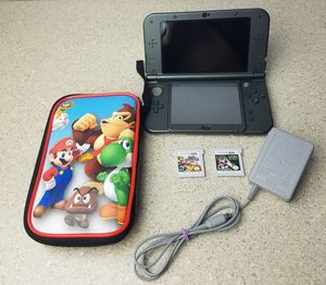 New Nintendo 3ds xl with 2 games and case for Sale in Hialeah, FL