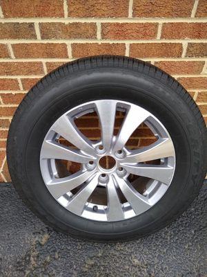 2016 Honda Odyssey Rim and Tire for Sale in Manassas, VA