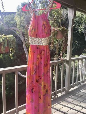 Calvin Klein Multicolored Maxi Dress for Sale in San Diego, CA