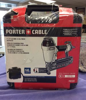 "Porter cable fn250c 2 1/2"" 16 ga finish nail gun new in box for Sale in Orange, CA"