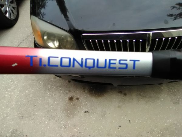 2 Ti Conquest Tennis Rackets