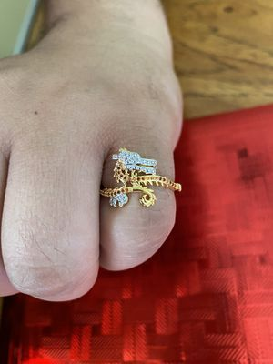 18k over Silver Dragon Ring. for Sale in Boston, MA