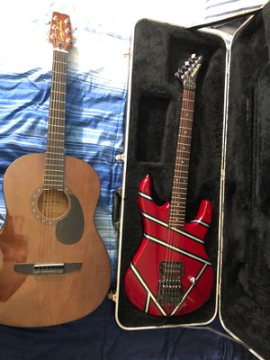 6 String guitar and Electric guitar for Sale in Washington, NC