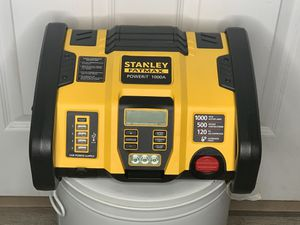 Stanley Fatmax PoweriT 1000A Jump Starter USB Power Air Compressor NEW (no box or manual) for Sale in Orlando, FL