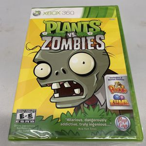 Plants Vs Zombies For Xbox 360 Brand New Sealed for Sale in Camp Hill, PA