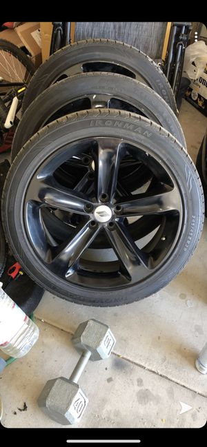 """Dodge 20"""" charger stock wheels for Sale in Fort McDowell, AZ"""