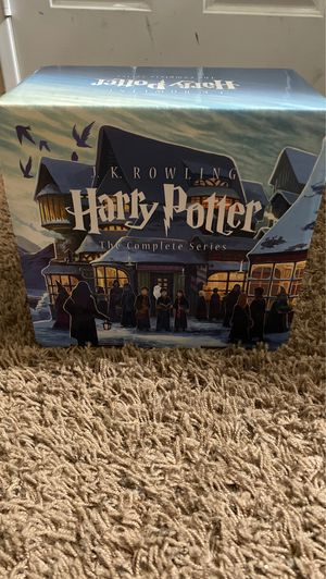 Harry Potter The Complete Series Books for Sale in Rialto, CA
