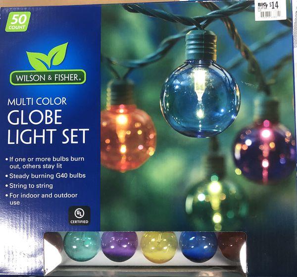 Globe light set