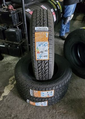 215/85/16 LT 10ply new all terrain for $100 each with balance and installation we also finance 7637 airline dr houston TX 77037 for Sale in Houston, TX