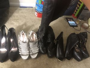 5 pair of Heels for Sale in Rockville, MD