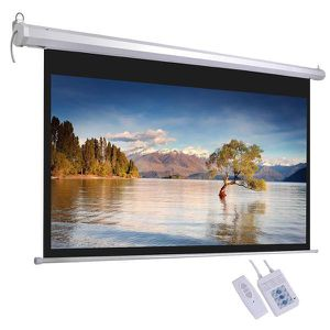 """92"""" retractable projector screen for Sale in City of Industry, CA"""