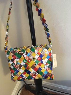 Handmade fair trade recycled bag made in Mexico for Sale in KNG OF PRUSSA, PA