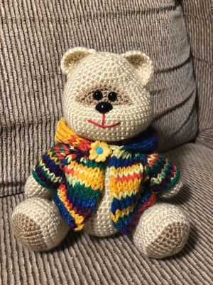 Teddy Bear Crocheted Stuffed Animals (make to order) for Sale in San Mateo, CA