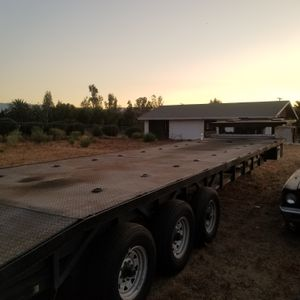 Car hauler take 3 flat bed for Sale in Norco, CA