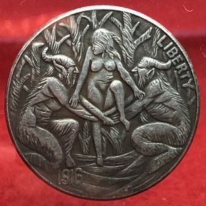 Demons holding woman coin. First $20 offer automatically accepted. Shipped same day for Sale in Portland, OR