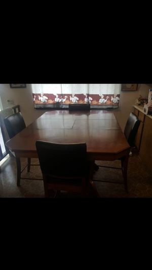 Bar height dining table with chairs for Sale in Tacoma, WA