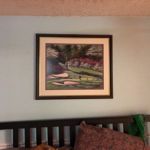 Masters Painting Famous Augusta Hole for Sale in Nottingham, MD