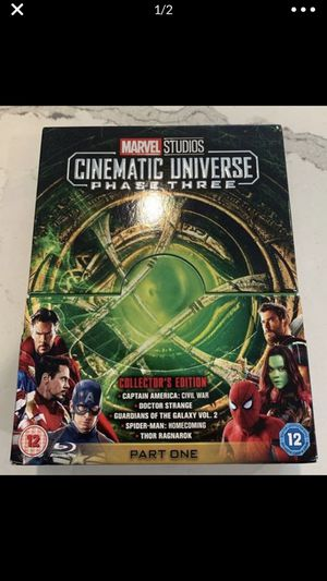 MCU DVD Bundle Set for Sale in Irvine, CA