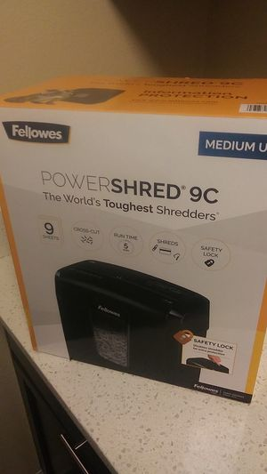 Power shred 9c for Sale in Issaquah, WA