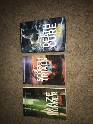 Maze Runner (complete trilogy) for Sale in West Point, MS