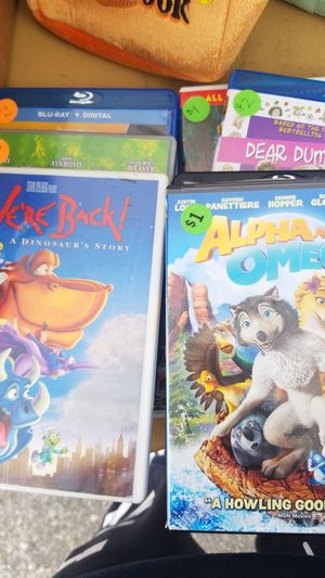 10 kids dvds for Sale in Federal Way, WA