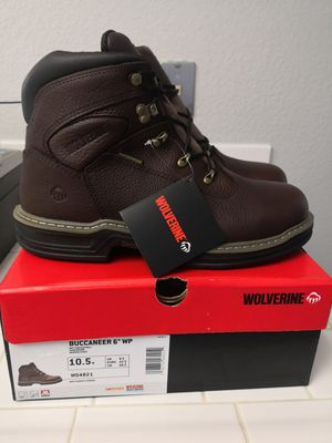 Brand new wolverine soft toe work boots size 10.5 for Sale in Riverside, CA